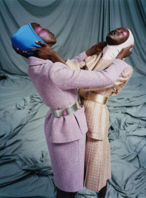 Editorials.  Adut Akech & Nyaueth Riam. i-D Summer 2017.  Images by Harley Weir.