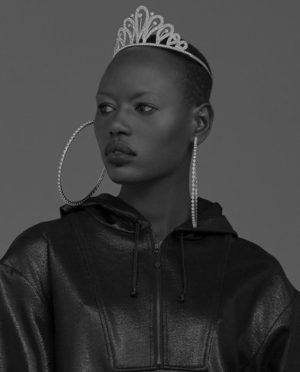 Editorials. Ajak Deng.  V Magazine Summer 2017.  Images by Nicole Maria Winkler.