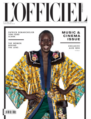 Editorials. Alek Wek. L'Officiel Indonesia.  Images by Onin Lorente.