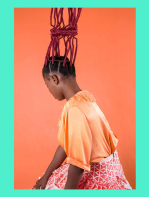 Images.  Medina Dugger Celebrates Black Hair and Pays Tribute to J. D. 'Okhai Ojeikere with 'Chroma.'