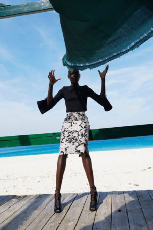 Collections. Grace Bol for Roland Mouret Pre-Fall 2017.