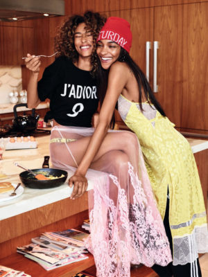 Editorials. Jourdan Dunn. Anais Mali.  Glamour Magazine June 2017.  Images by Patrick Demarchelier.