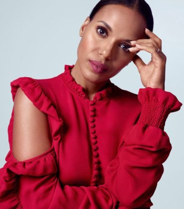 Kerry Washington Covers The Edit.  Images by Kerry Hallihan.