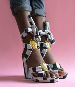 Shop This.  New Sandals From Loza Maléombho.