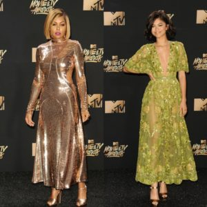 On the Red Carpet. The 2017 MTV Movie and TV Awards.