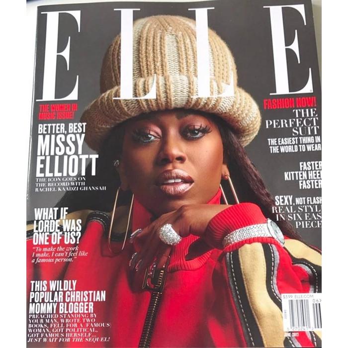 Missy Elliott ELLE 2017