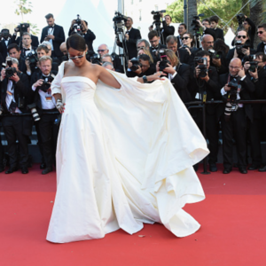 Rihanna Stuns in Dior at the Cannes Film Festival.