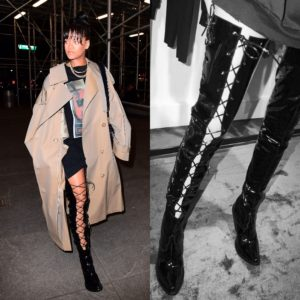 Rihanna Steps Out in Unravel and Juun.J.