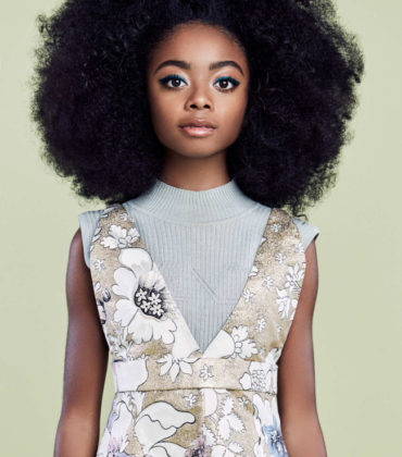 Editorials. Skai Jackson. New York Magazine.  Images by Jessie English.