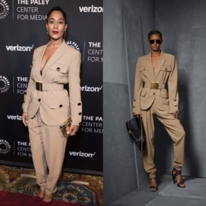 Tracee Ellis Ross Wears a Michael Kors Pre-Fall 2017 Suit.