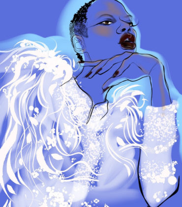 Fashion Illustration by VG Waymer.