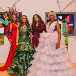 Beyoncé, Solange, Kelly Rowland & More at Miss Tina Knowles-Lawson's Wearable Art Gala.