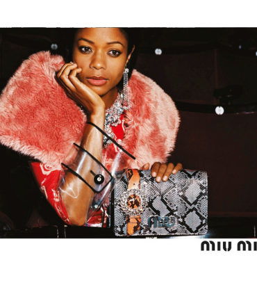 Naomie Harris and Adwoa Aboah Feature in Miu Miu FW17 Campaign.