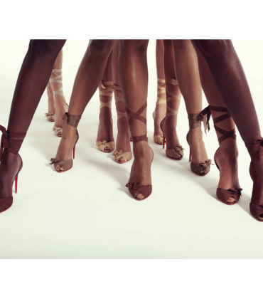 Christian Louboutin Unveils Latest Nude Shoe Collection.