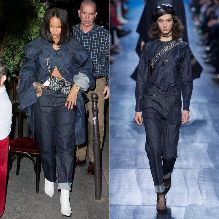 Rihanna Dior Balenciaga