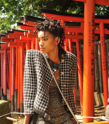 Willow Smith is in Japan for Her Latest Chanel Ad Campaign.