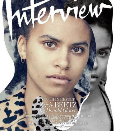 'Atlanta's' Zazie Beetz Covers Interview Magazine.