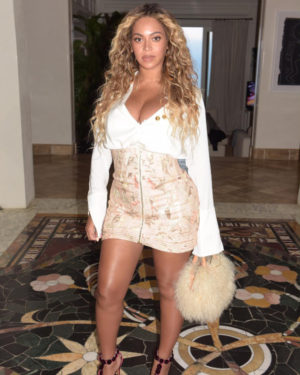 Beyoncé Wears Zimmermann, Ellery, Brother Vellies, and Alaïa.
