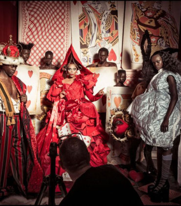 Sneak Peek. Pirelli's 2018 Calendar Stars an All-Black Cast in Wonderland.