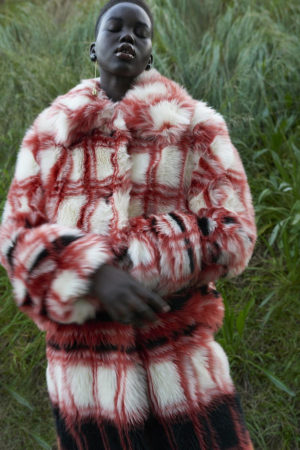 Editorials. Adut Akech Bior. i-D. Images by Jack Grayson