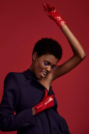 Beauty. Amilna Estevão.  Glamour Magazine July 2017.  Images by Olivia Malone.