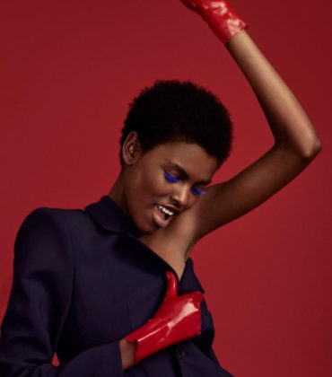 Beauty. Amilna Estevão.  Glamour Magazine July 2017.  Images by Olivia Malone.