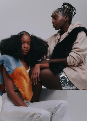 Editorials. 'Heritage and Hair Inspiration.'  ELLE South Africa.  Images by Aart Verrips.