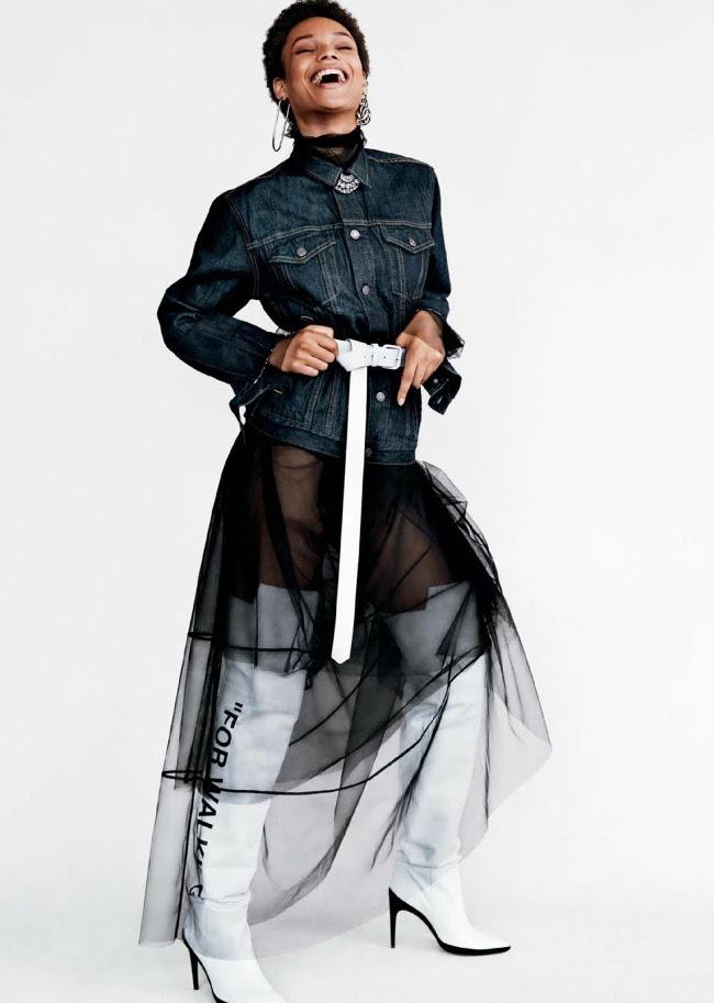 Ebonee Davis, Kenya Kinski-Jones, Afrodita Dorado