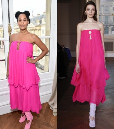 Tracee Ellis Ross Wears Schiaparelli Spring 2017 Couture.
