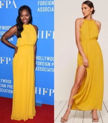 Aja Naomi King Wears Reformation.