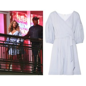 Beyoncé Does Date Night in a Playsuit by Adeam.