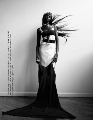 Editorials.  Duckie Thot. BLVD Magazine.  Images by Oliver Katibi Stalmans.