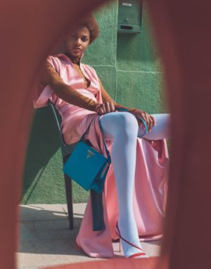 Editorials. Karly Loyce.  Porter Magazine Fall 2017.  Images by Emma Tempest.