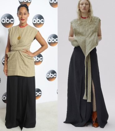Tracee Ellis Ross Wears Céline Pre-Fall 2017.