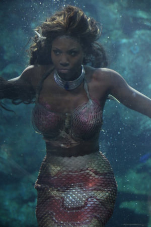 Film. Bola Ogun is a Captive Mermaid in 'The Water Phoenix.'