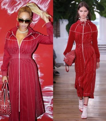 Beyoncé Wears Valentino Resort 2018.
