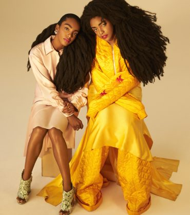 Images.  Cipriana Quann and TK Wonder for V Magazine.  Images by Jason Geering.