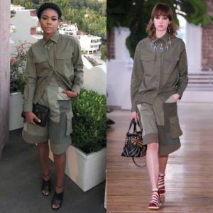 Gabrielle Union Wears Valentino Resort 2018.