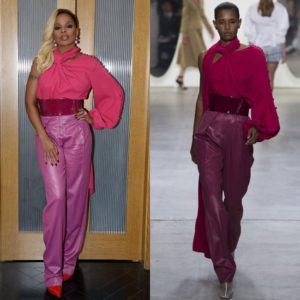 Mary J. Blige Wears Prabal Gurung SS18.
