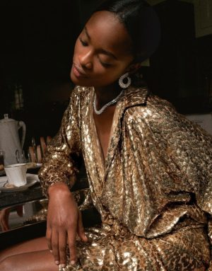 Editorials. Mayowa Nicholas.  Porter Magazine.  Images by Cedric Buchet.