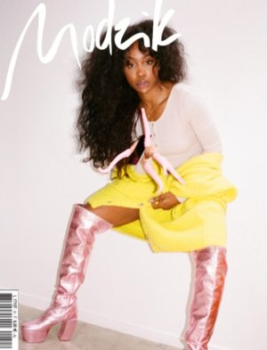 Editorials. SZA for Modzik Magazine. Images by Alex Brunet.