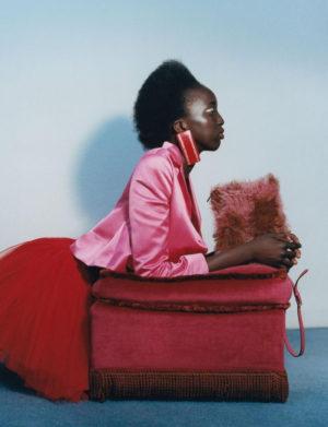 Editorials.  Nyaueth. Heroine Magazine.  Images by Alexandra Leese.