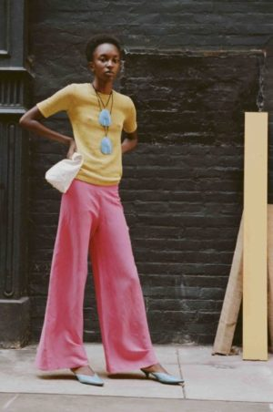 Lookbooks.  Nicole Atieno for Simon Miller Spring 2018.