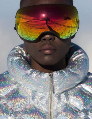 Editorials. Grace Bol.  Vogue Germany December 2017.  Images by Hans Feurer.