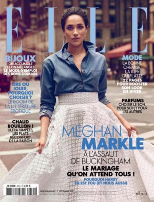Meghan Markle Covers ELLE France and Vanity Fair Mexico December 2017.  Images by Christian Blanchard.