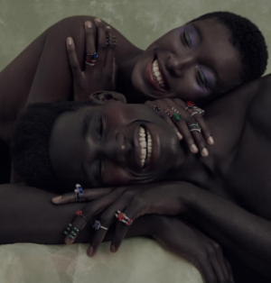 Collections.  Nabillah Sedar and Maria Oliveira for Andrea Conti Jewelry. Images by MAR+VIN.
