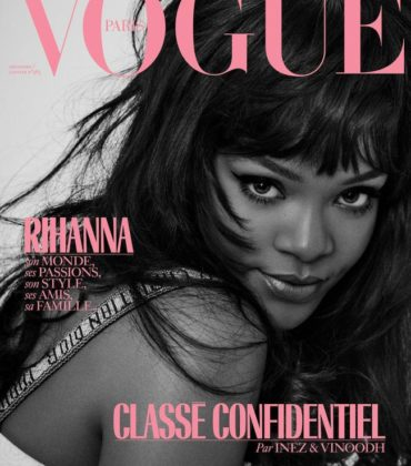 Editorials. Rihanna Covers Vogue Paris.  Images by Inez and Vinoodh.