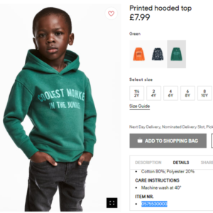 H&M Gets Called Out For Racist Image.