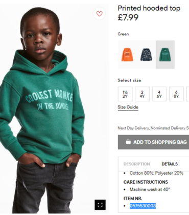 H&M Closes All of Its South African Stores Following Protests Over Racist Ad.