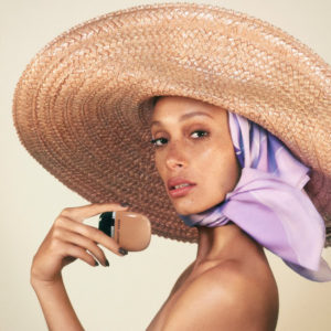 Adwoa Aboah for Marc Jacobs Beauty.